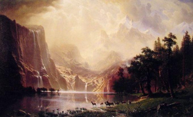 Albert Bierstadt Screensaver