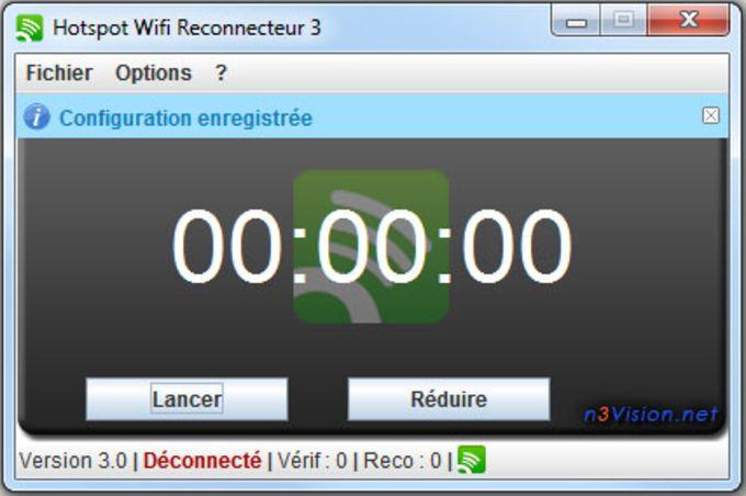 Hotspot Wifi Reconnecteur (Win)