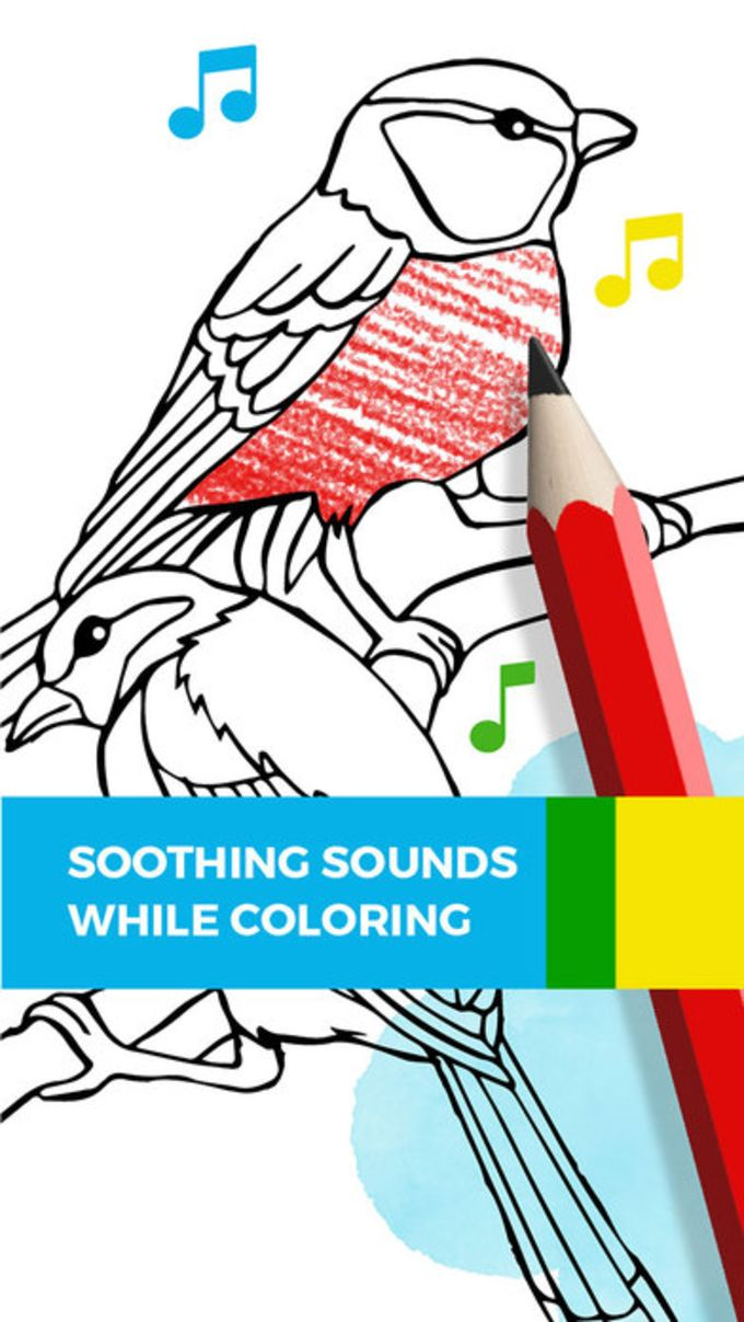 Tayasui Color, a relaxing coloring book for adults