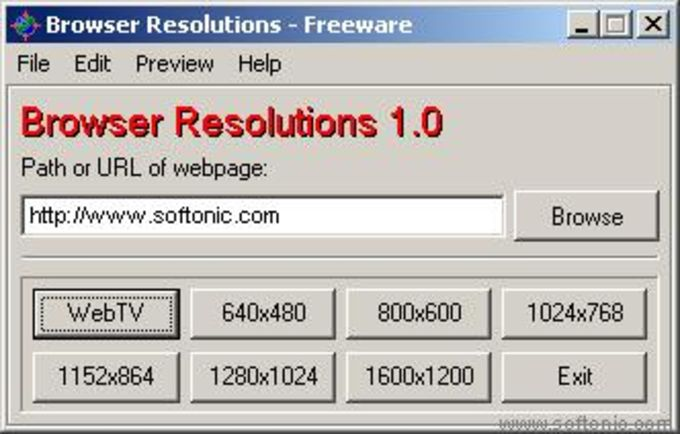 Browser Resolutions