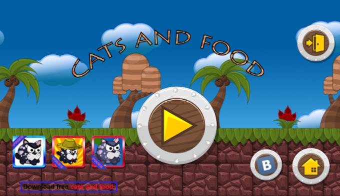 Gatito y comida 1: saltar