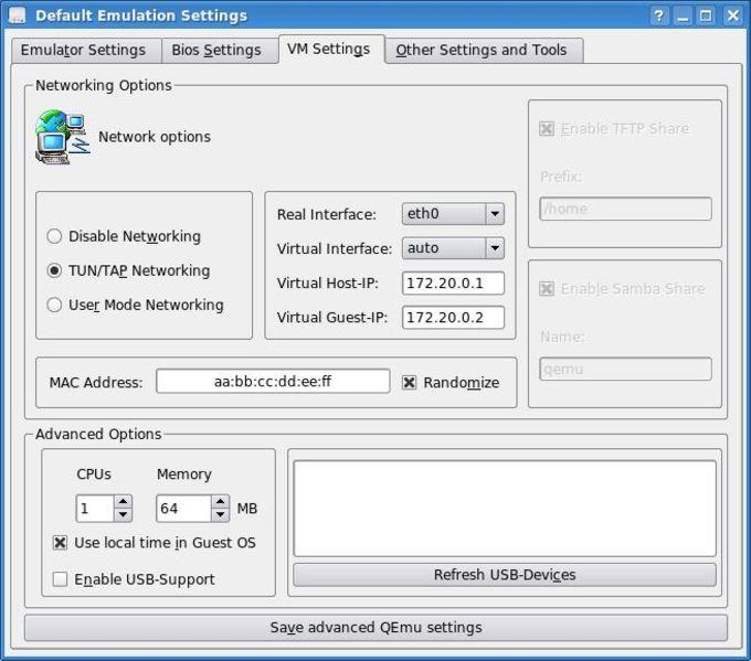 KDEAddons-Emulation