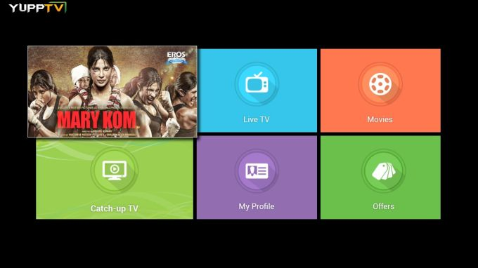 YuppTV - LiveTV, Catch-up, Movies