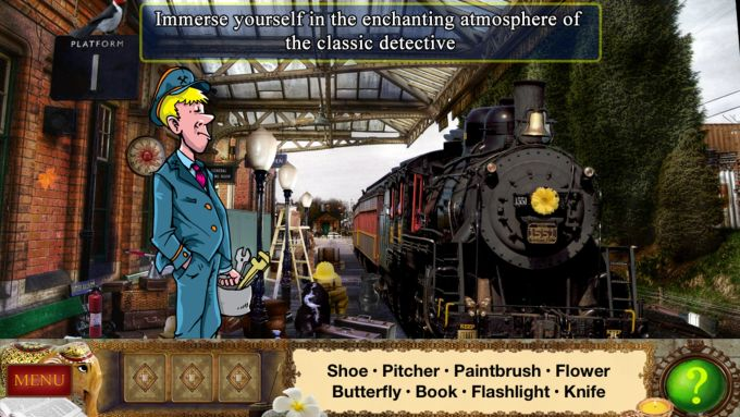 Hidden Objects: Sherlock Holmes - Trap for the Hunter.