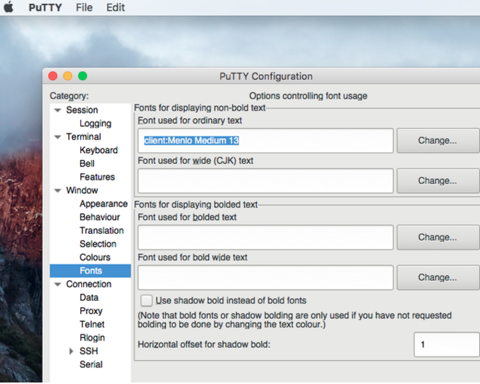 PuTTY für Mac - Download