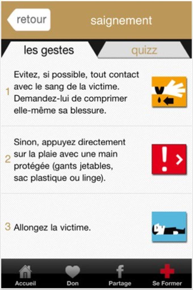 Croix-Rouge: l'Appli qui Sauve