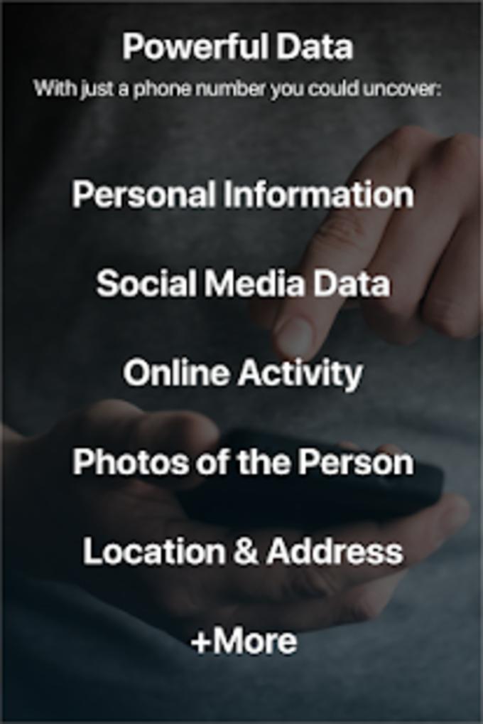 Phone Lookup Premium  Reverse Phone Number Lookup