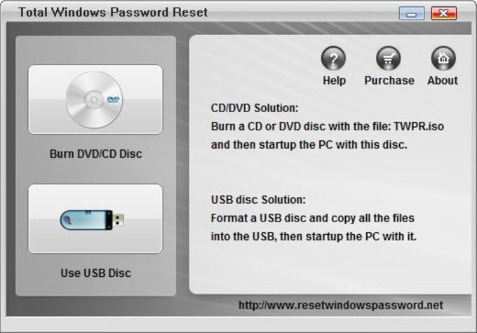 Total Windows Password Reset
