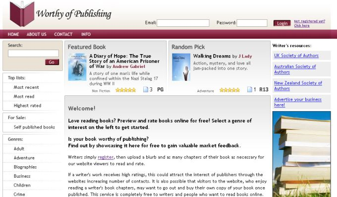 Worthy of Publishing