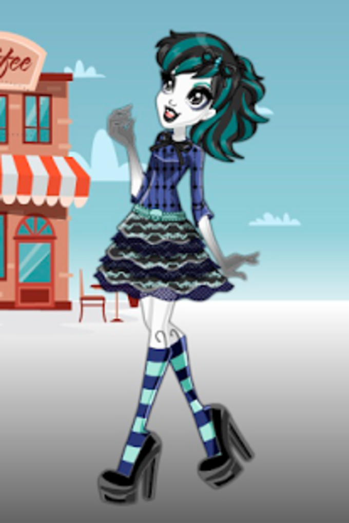 Monsters Girls Fashion Style Dress Up Game
