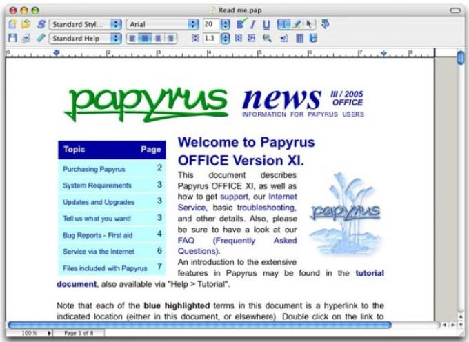 Papyrus OFFICE