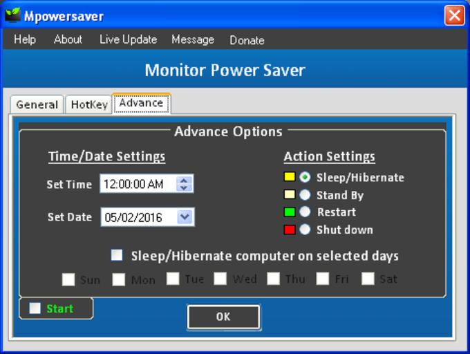 Monitor Power Saver
