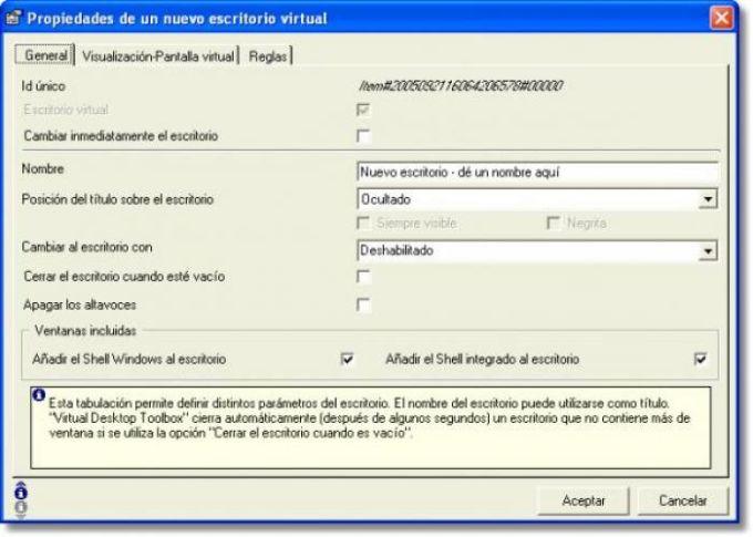 Virtual Desktop Toolbox