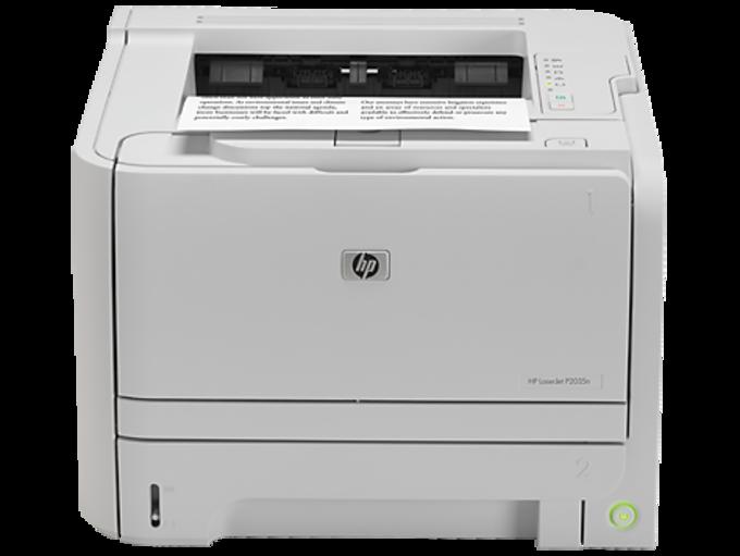 HP LaserJet P2035n Printer drivers