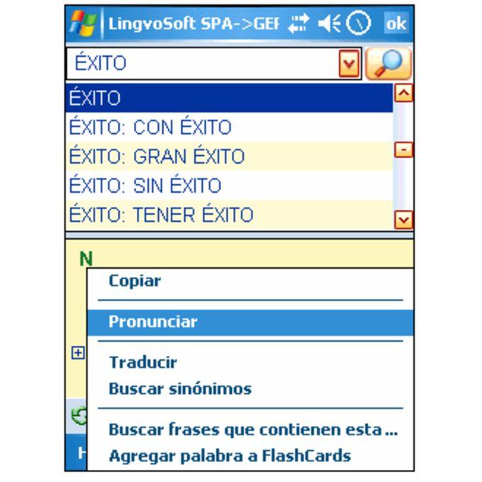 LingvoSoft Spanish - German Dictionary 2008