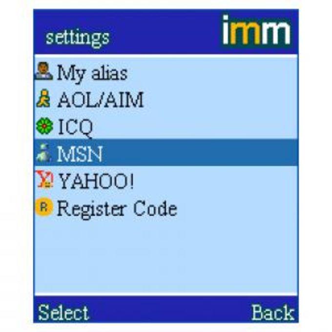 IMMessenger S60 v2