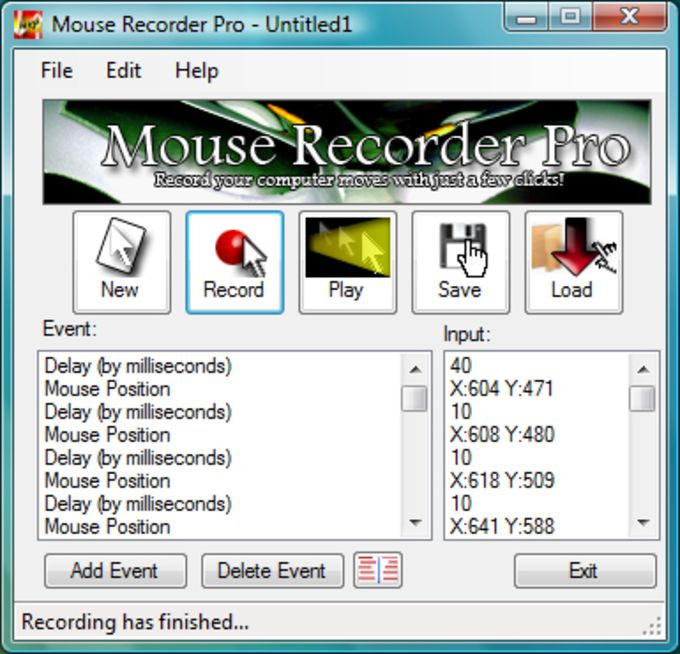 Mouse Recorder