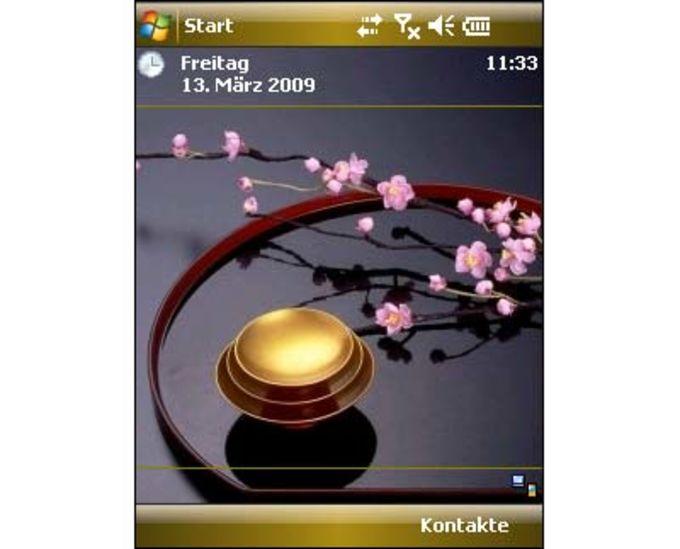 Gold Cherry Blossom