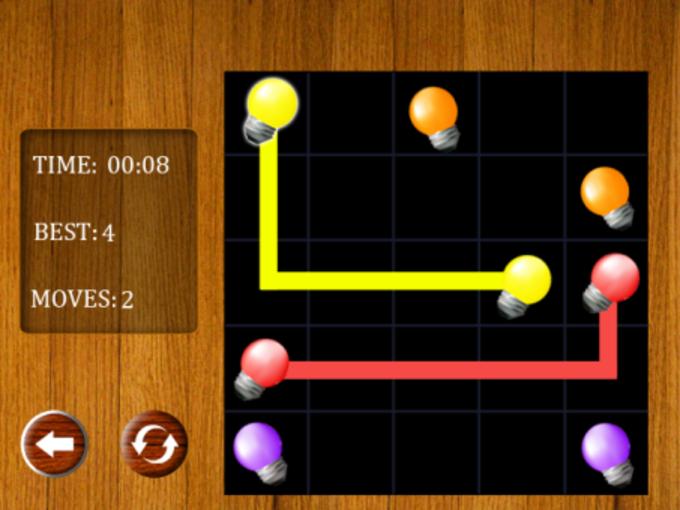 Light Bulbs - Flow Game
