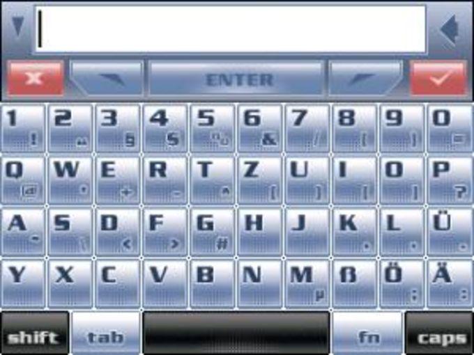 PDAMedia Keyboard: Deutsches Sprachpaket