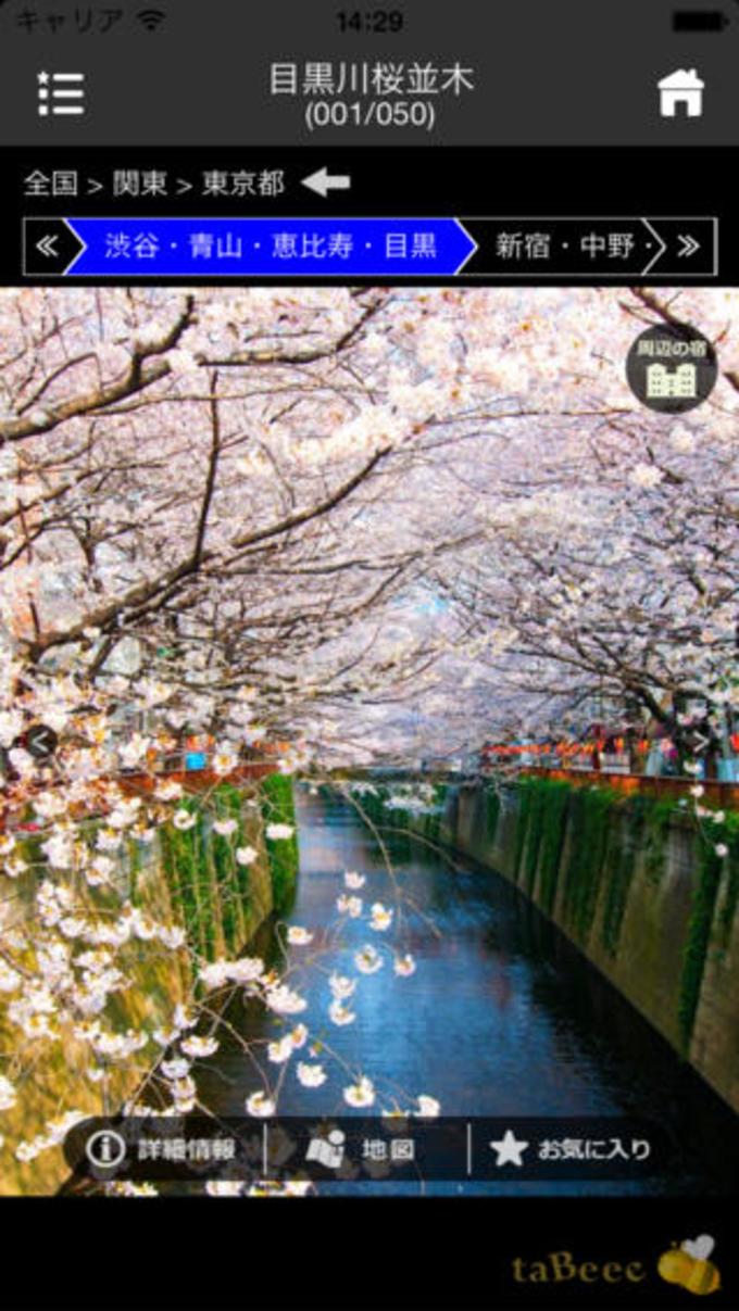 東京の桜名所 2014:東京のサクラ名所の写真・地図・見所・見頃・開花状況をお届け!