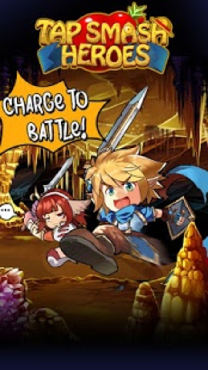 Tap Smash Heroes: Idle RPG Game