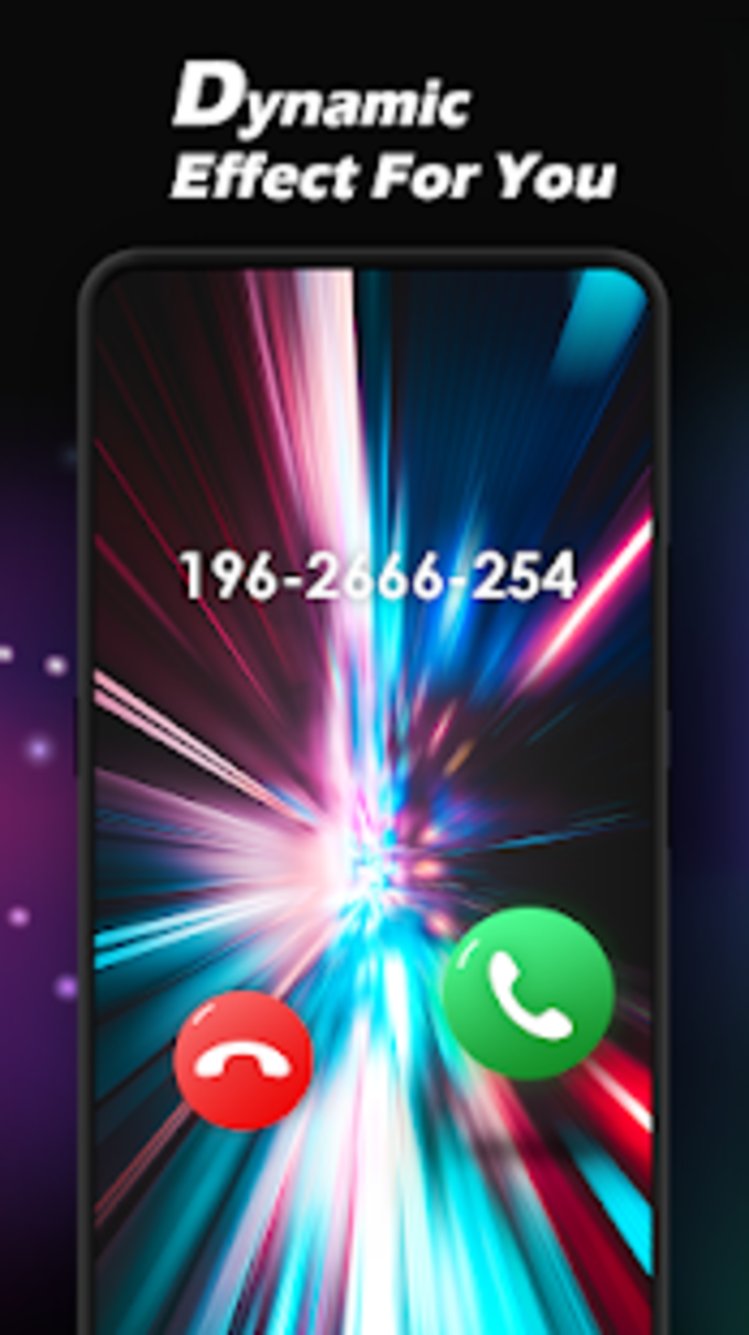 Caller Theme Screen  Color Phone Call Flash