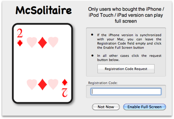 MacSolitaire