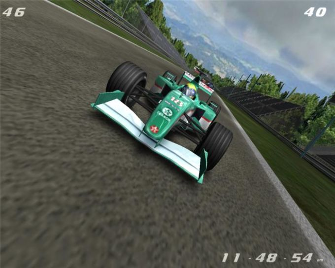 3D Formula 1 Screensaver