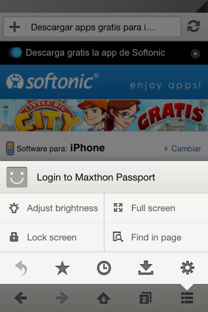 Maxthon for IOS