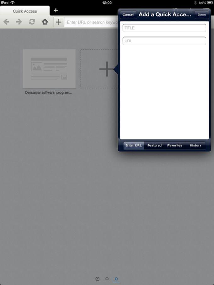 Maxthon for IOS Ipad