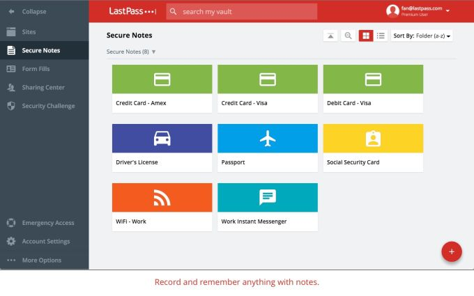 LastPassFree Password Manager