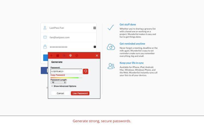 LastPassFree Password Manager
