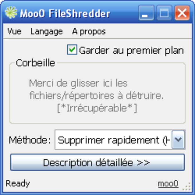 Moo0 FileShredder