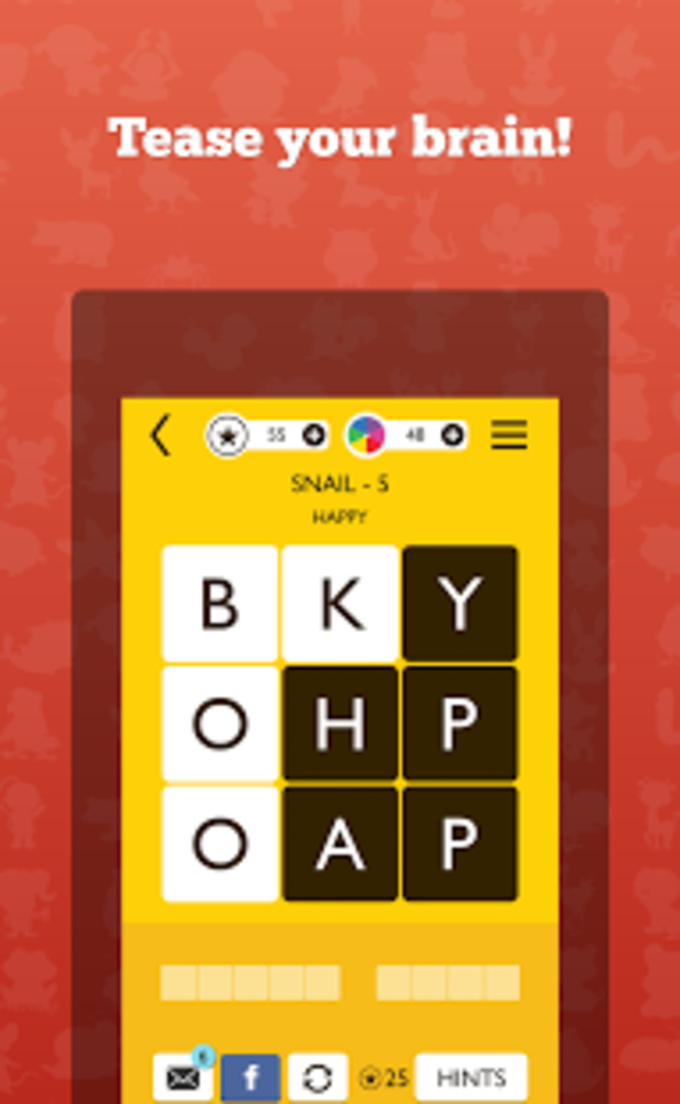Word Trek - Brain game app