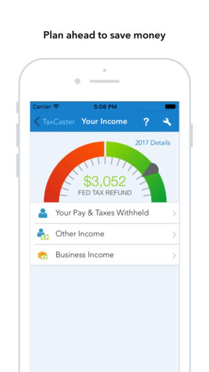 TaxCaster: Tax Calculator