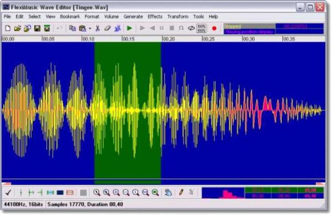 Fleximusic Wave Editor