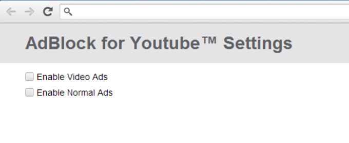 Adblock für YouTube