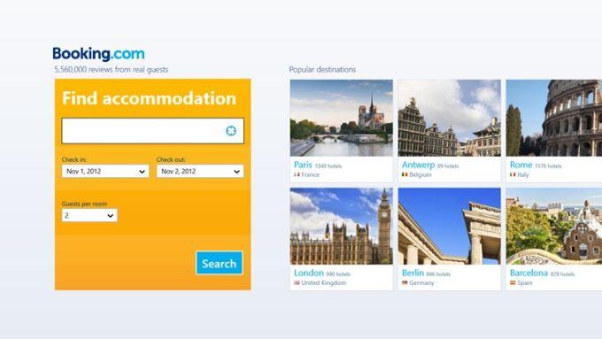 Booking.com for Windows 10