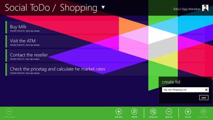 Social ToDo for Windows 10