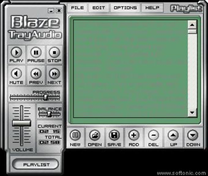 Blaze TrayAudio