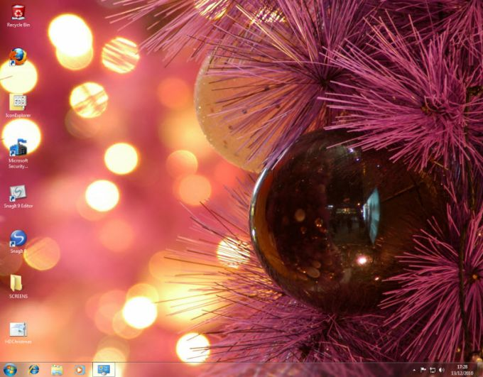 Windows 7 Christmas Theme