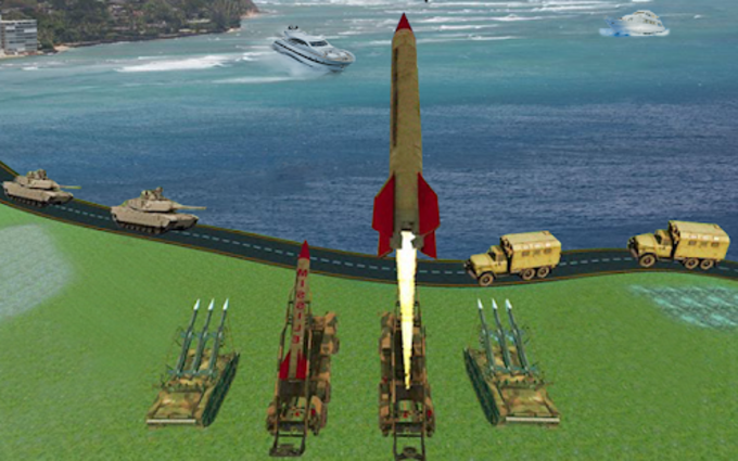 Missile War Launcher Mission  Rivals Drone Attack