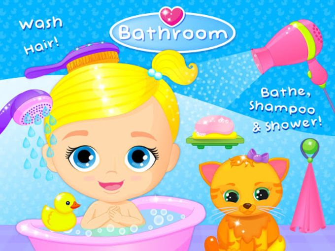 Lily & Kitty Baby Doll House