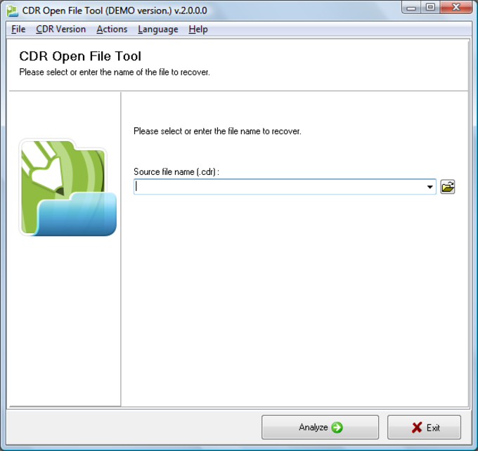 CDR Open File Tool