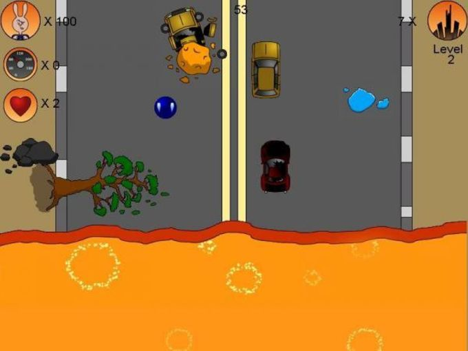 Crazy Crash Racing