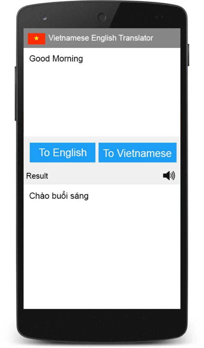 Vietanamese English Translator