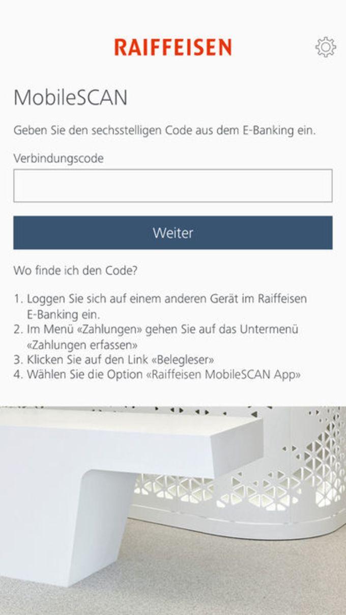 Raiffeisen MobileSCAN