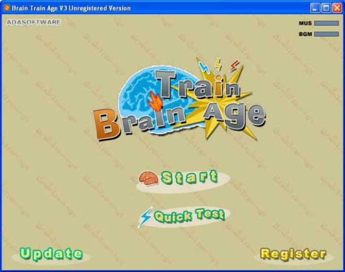 Brain Train Age