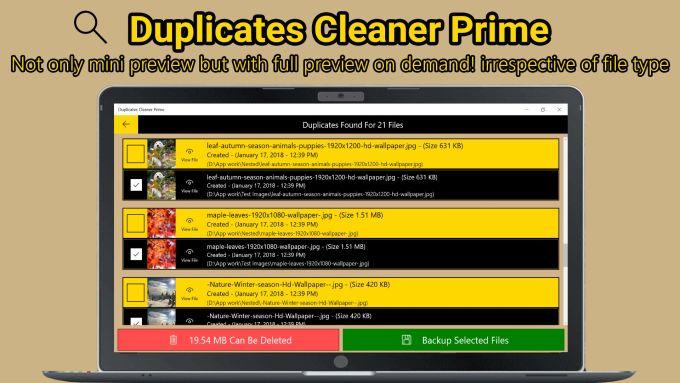 Duplicates Cleaner Prime